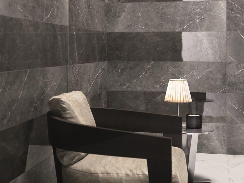 SENSI Pietra Grey LUX e SABLÈ - Statuario White LUX
