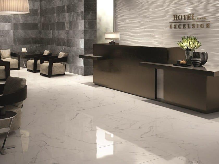 SENSI Statuario White LUX - Pietra Grey LUX e SABLÈ - DO UP touch Feel White Glossy