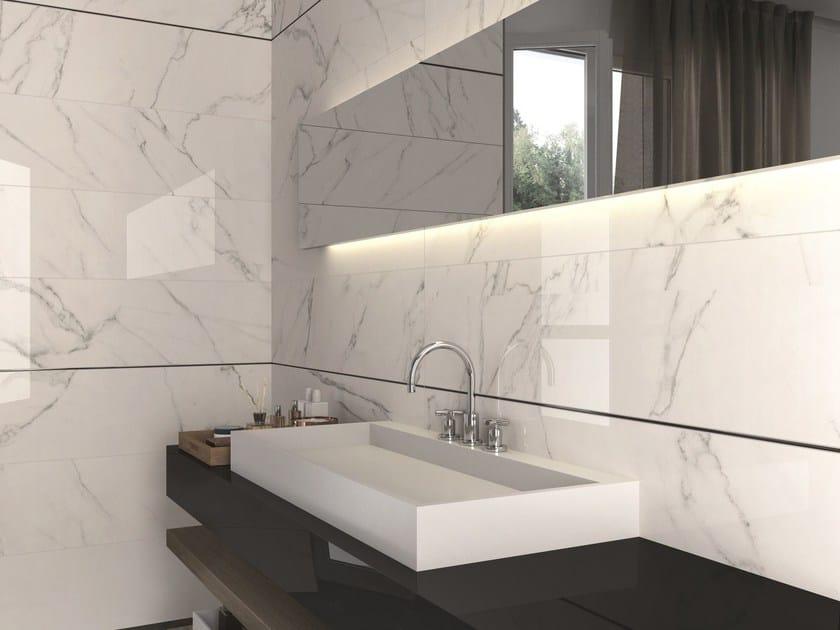 SENSI Statuario White LUX - Matita alluminio Black