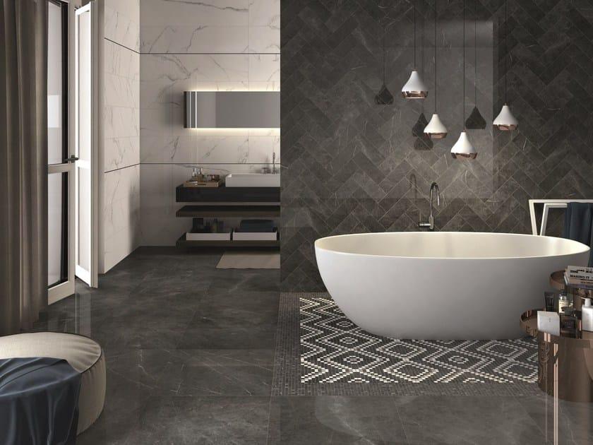 SENSI Pietra Grey LUX - Statuario White LUX - Mosaico Art Pietra Grey LUX - Mosico Dekor Cold LUX