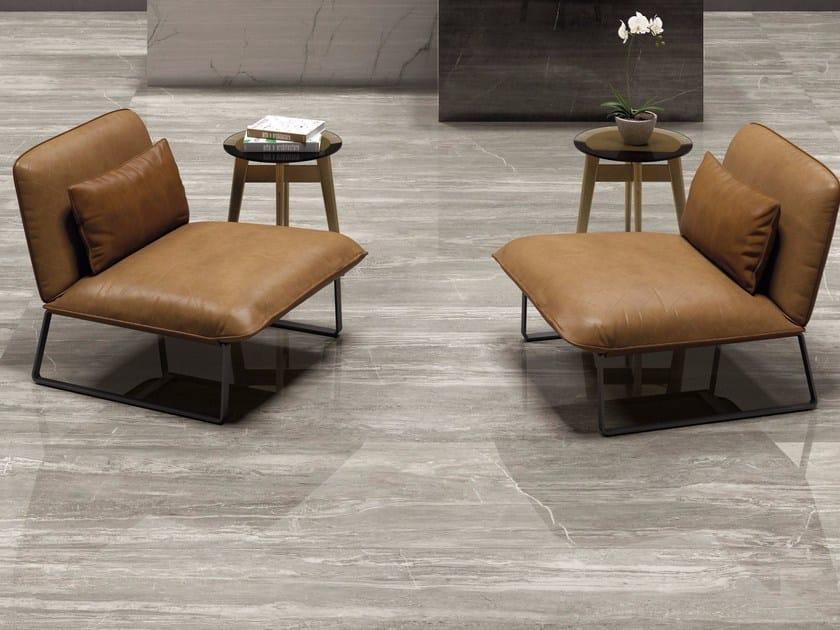 Pavimento/rivestimento in gres porcellanato SENSI WIDE By ABK