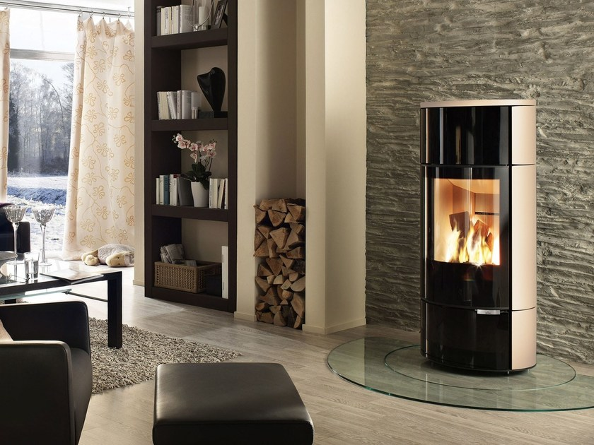 Wood-burning stove for water heating SENSO M H2O by SPARTHERM