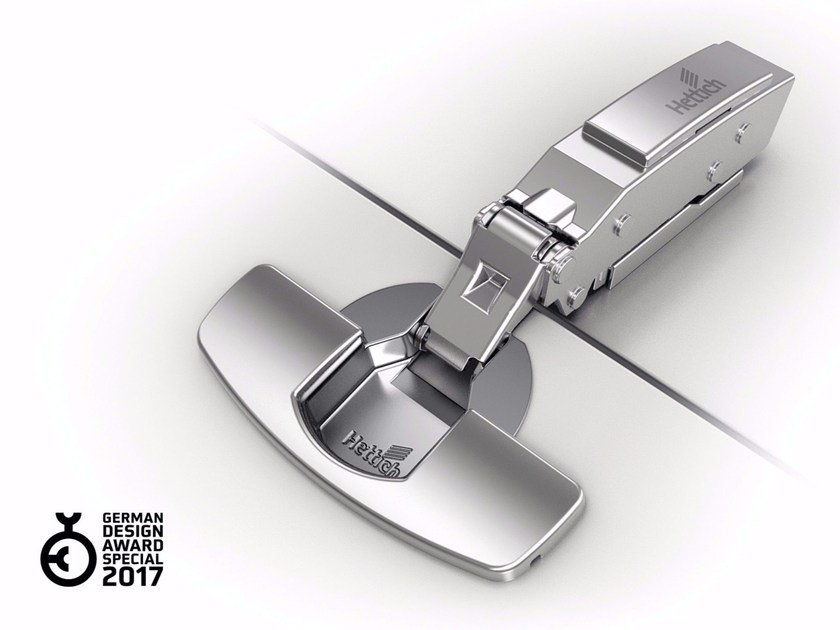Hinge with soft-closing function for thin doors SENSYS THIN DOORS by Hettich