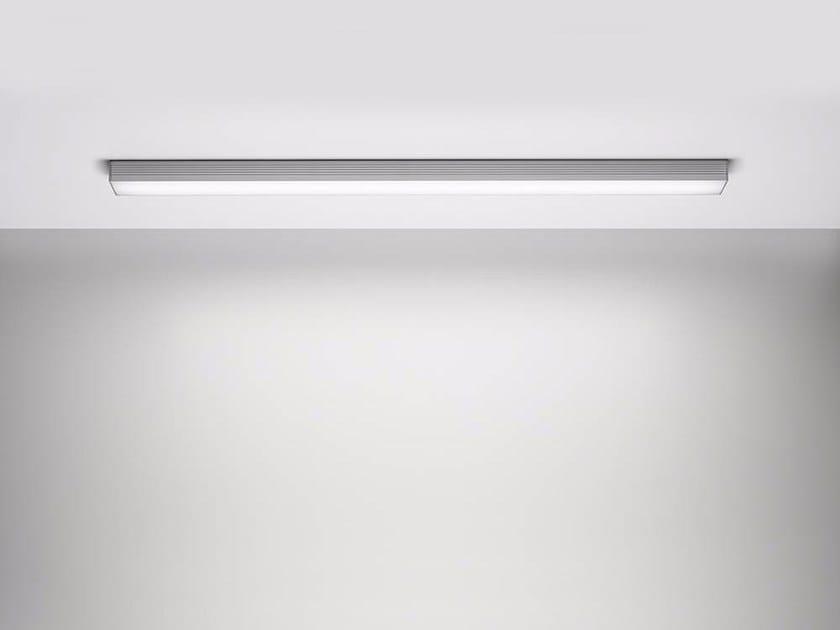 Lampada Led Da Soffitto : Lampada da soffitto a led in alluminio sentiero plafone by puraluce