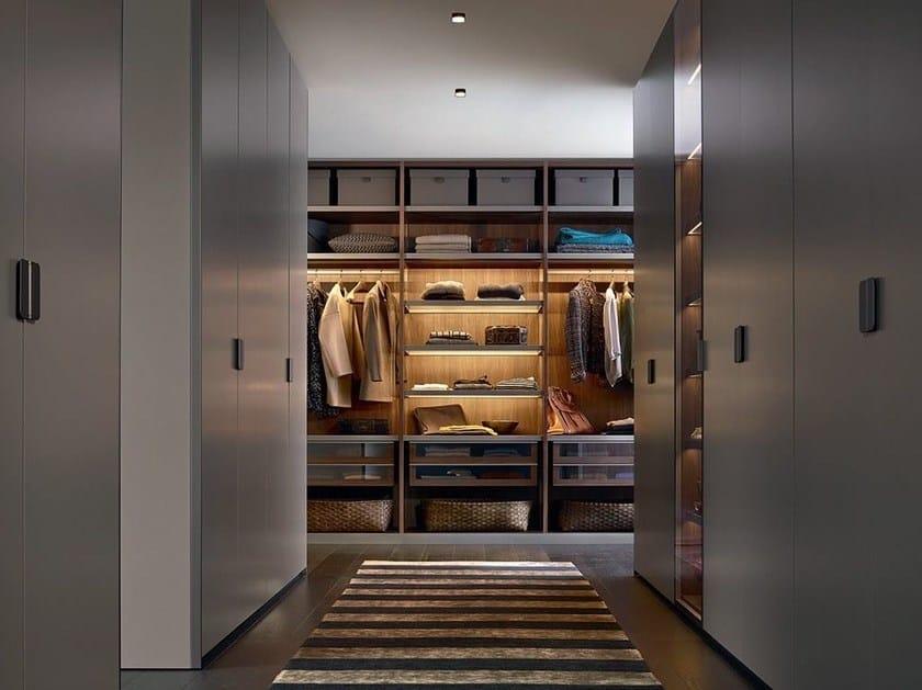 Cabina Armadio Ego Poliform : Sectional wooden wardrobe senzafine by poliform