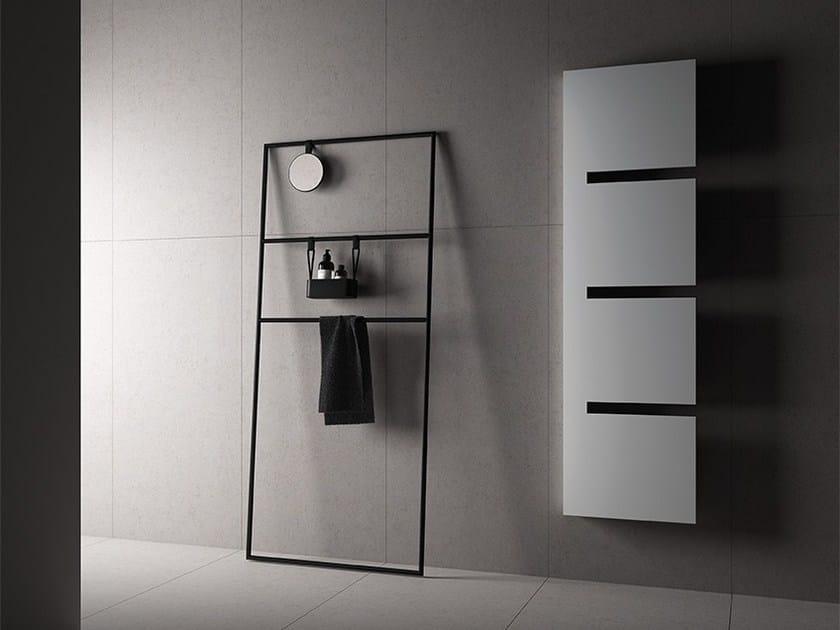 Wall-mounted steel towel warmer SEQUENZE | Towel warmer by IRSAP
