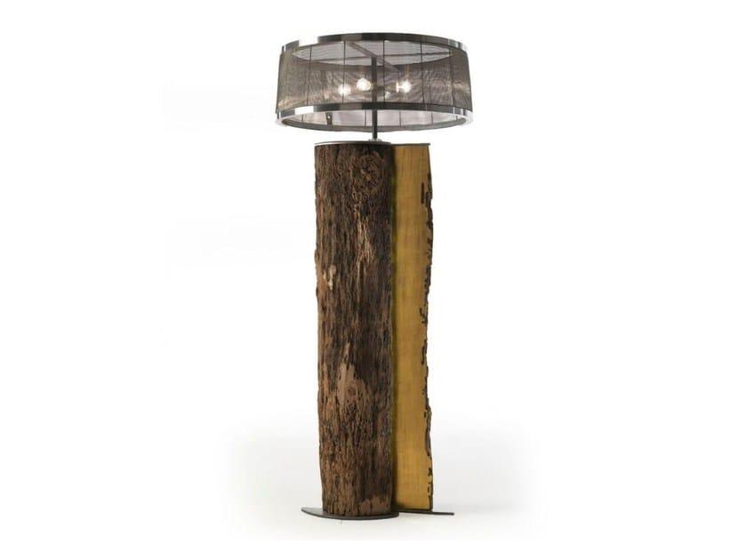 Lavorare Il Legno Pdf : Lampada da terra in legno di briccola serena by riva design