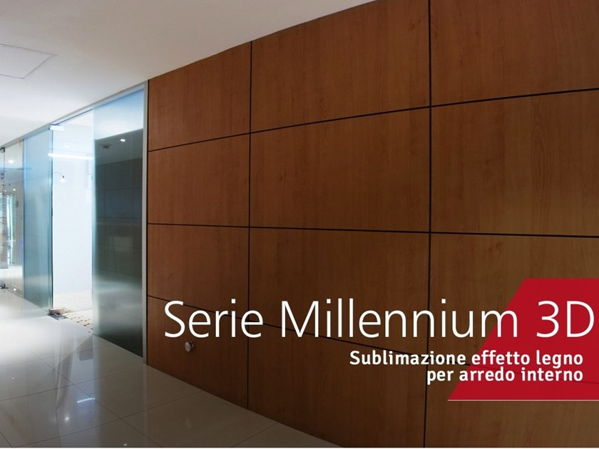 Metalworking SERIE MILLENNIUM 3D by Decoral® GROUP