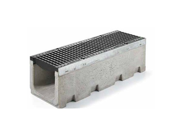 Cement Drainage channel and part SERIE R315 by GRIDIRON GRIGLIATI