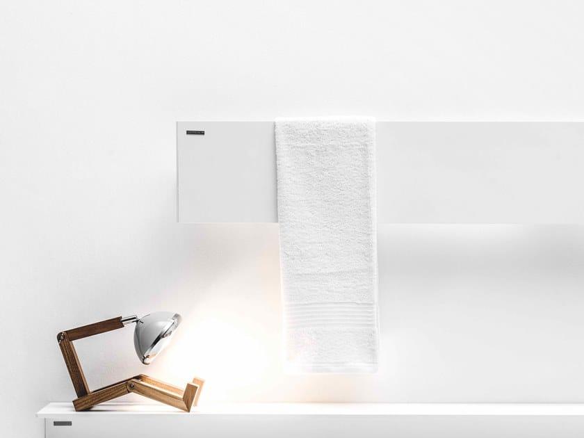 Sèche serviettes à panneau mural SERIE T - T1P by ANTRAX