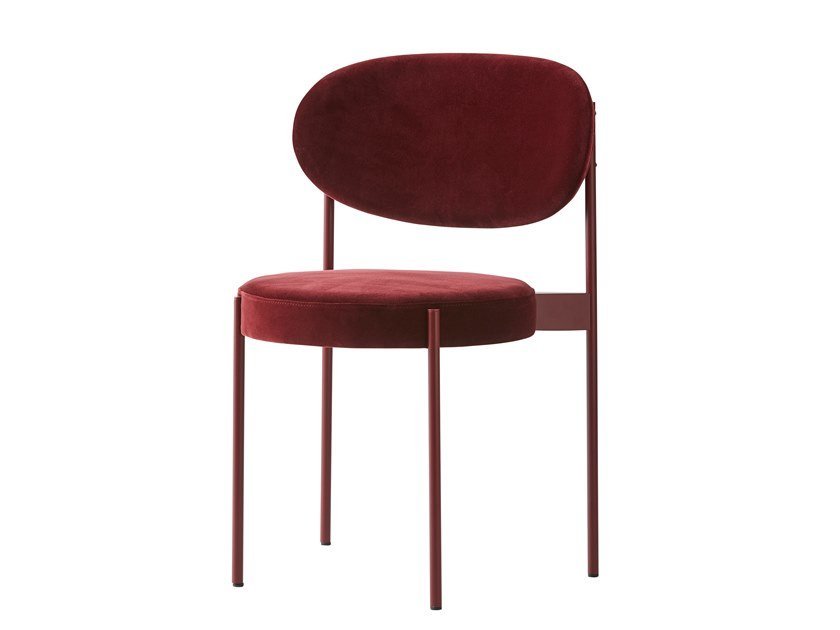 Upholstered fabric chair SERIES 430 | Chair by Verpan