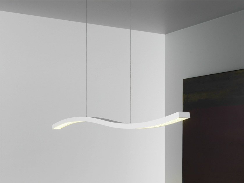 Direct light pendant lamp SERPENTINE by FontanaArte