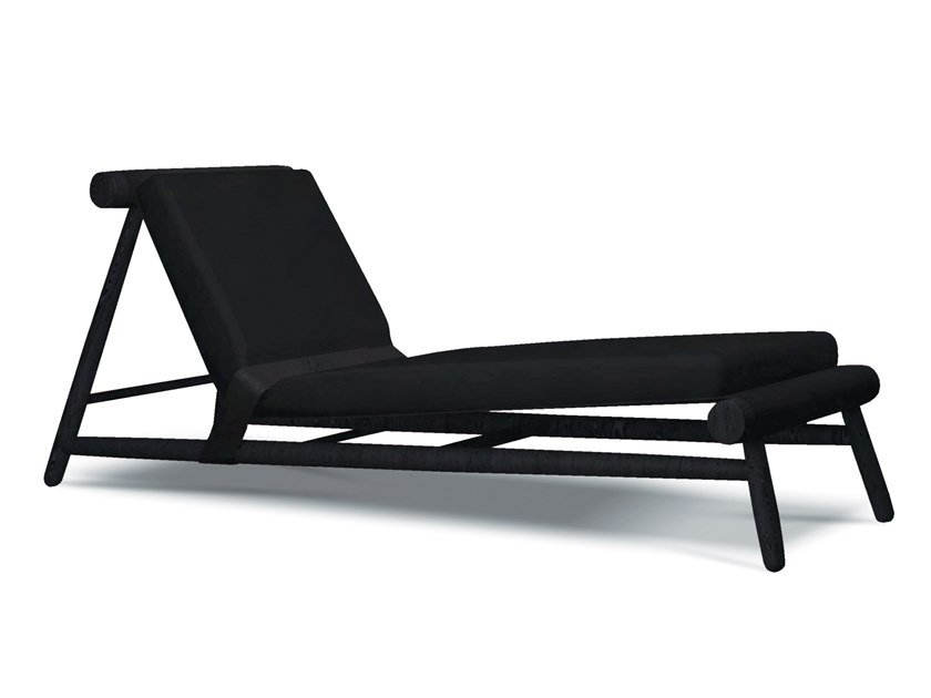 Fabric lounge chair SESO | Lounge chair by Collector