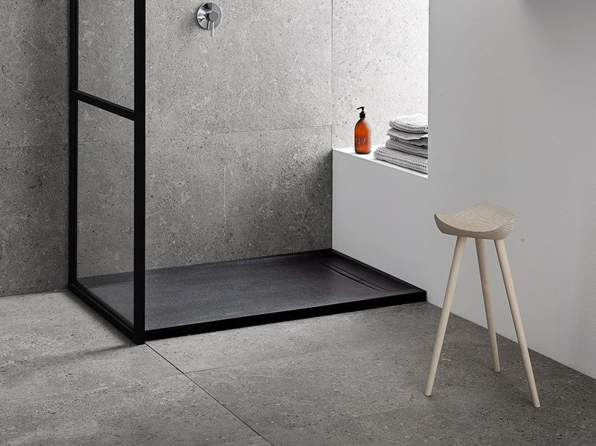 Piatto doccia antiscivolo SESTRA by Geberit