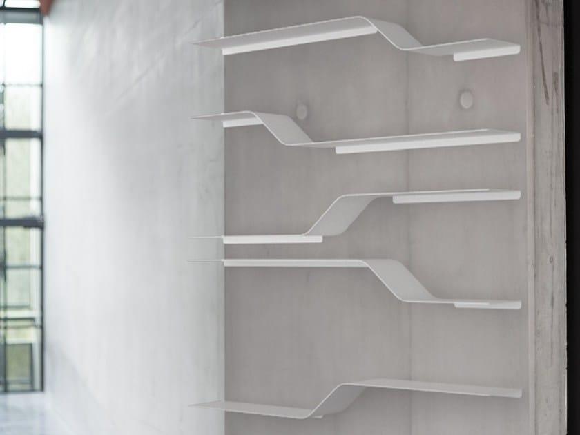 Powder coated aluminium wall shelf SET 9 by VIDAME CREATION