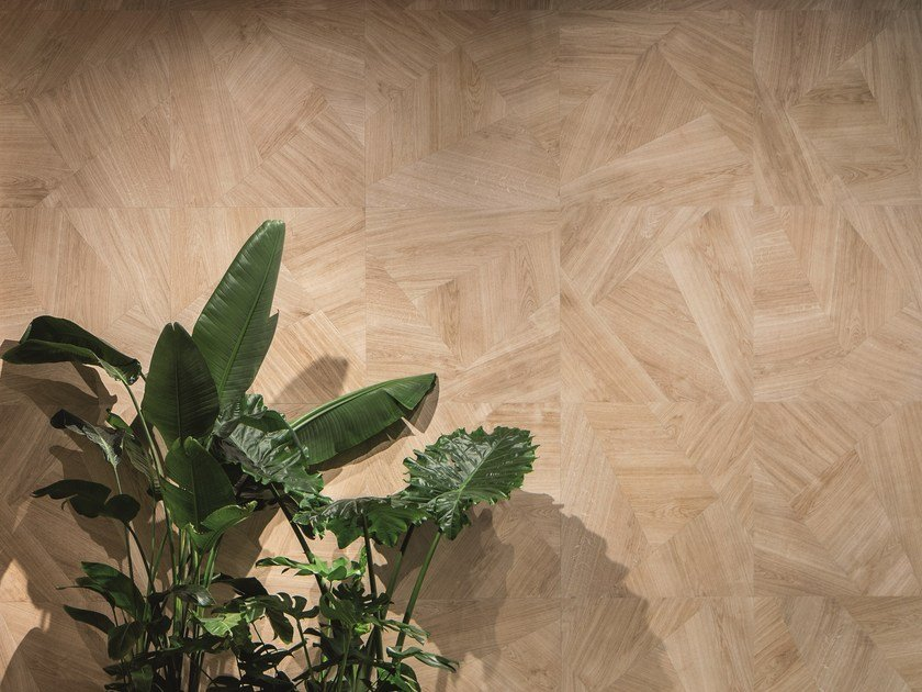 Porcelain stoneware wall/floor tiles with wood effect SET METROWOOD by CERAMICA SANT'AGOSTINO