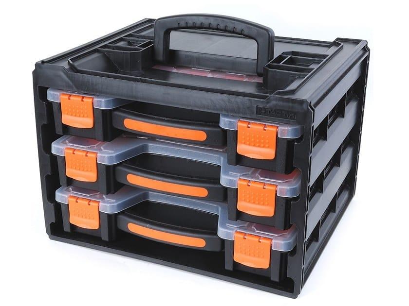 Small parts storage boxes SET ORGANIZER 3 PCS by KAPRIOL TACTIX