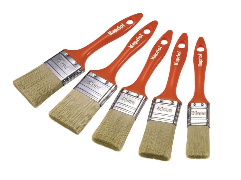 Pennello vernici per legno 20mm manico in legno Kapriol