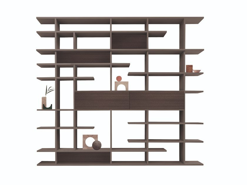 Double-sided sectional divider bookcase SET SYSTEM by FORMER