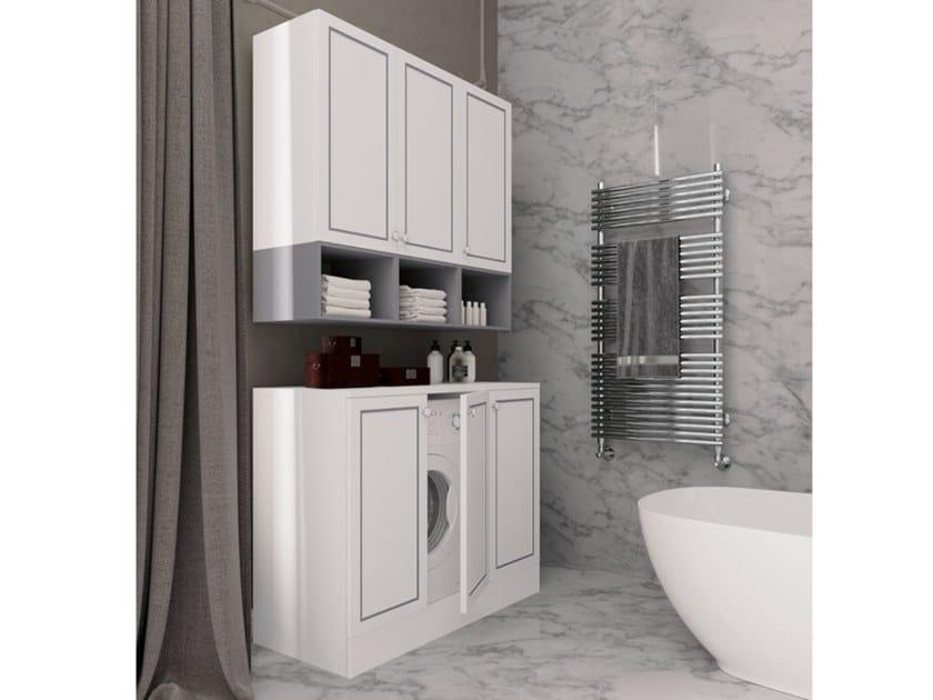 Mobile lavanderia in legno con ante a battente SETA 14 | Mobile lavanderia by Archeda
