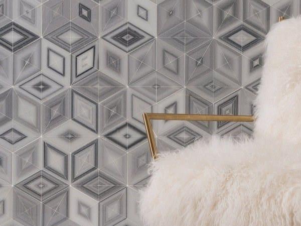 Marble mosaic SETSUMI by AKDO