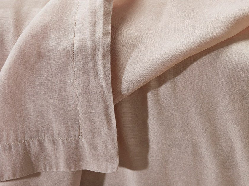 Double cotton and silk layer sheet SETU by Society Limonta