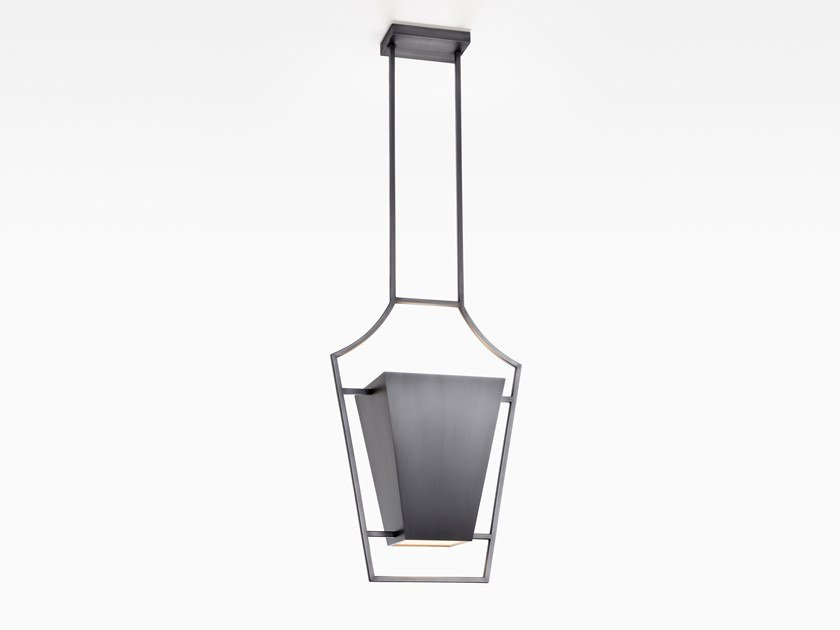 Direct light steel pendant lamp SEVA | Pendant lamp by Kevin Reilly Collection