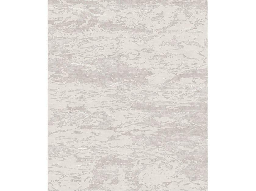 Handmade rectangular rug SEVEN BEIGE by Tapis Rouge