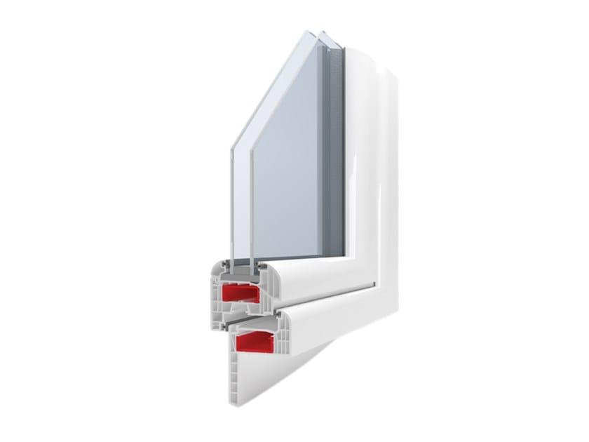 PVC thermal break window SEVEN PLUS by Ital-Plastick