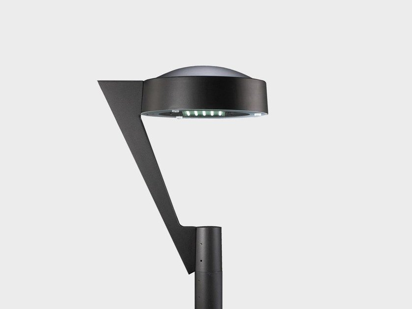 Lampione da giardino a led in alluminio seven testa palo by