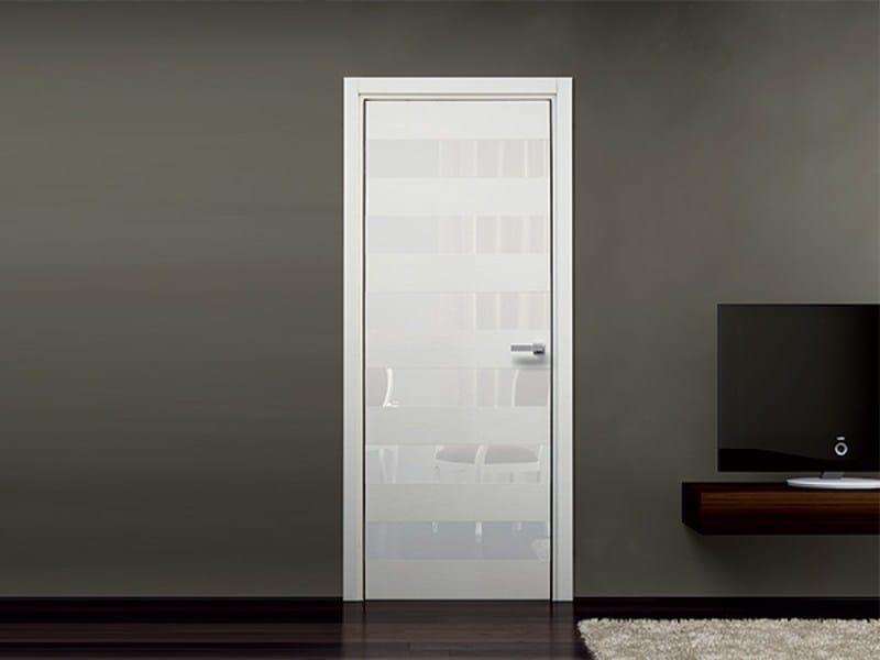 Hinged wooden door SEVEN by Pail Serramenti