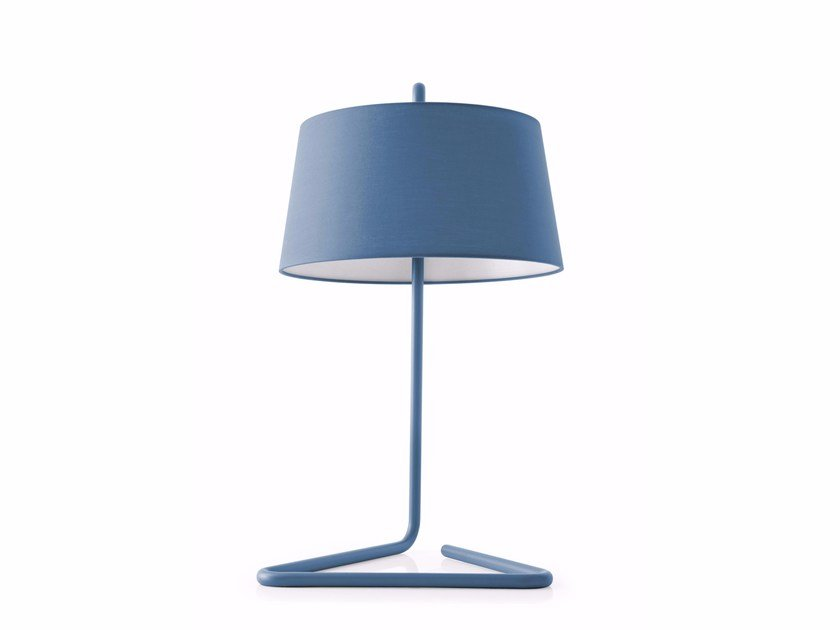 Fabric table lamp SEXTANS | Table lamp by Calligaris