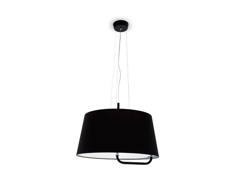 Adjustable fabric chandelier SEXTANS   Pendant lamp by Calligaris
