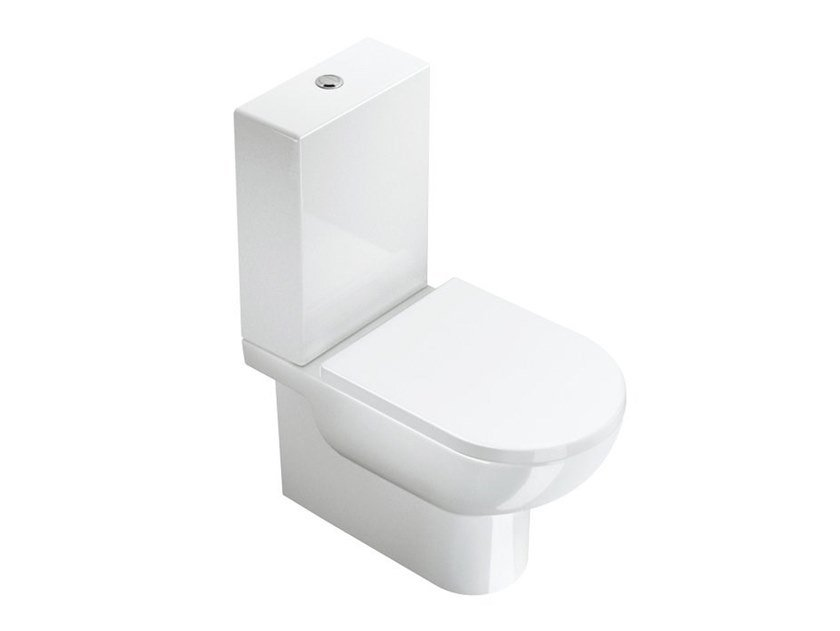 Close coupled ceramic toilet SFERA | Close coupled toilet by CERAMICA CATALANO