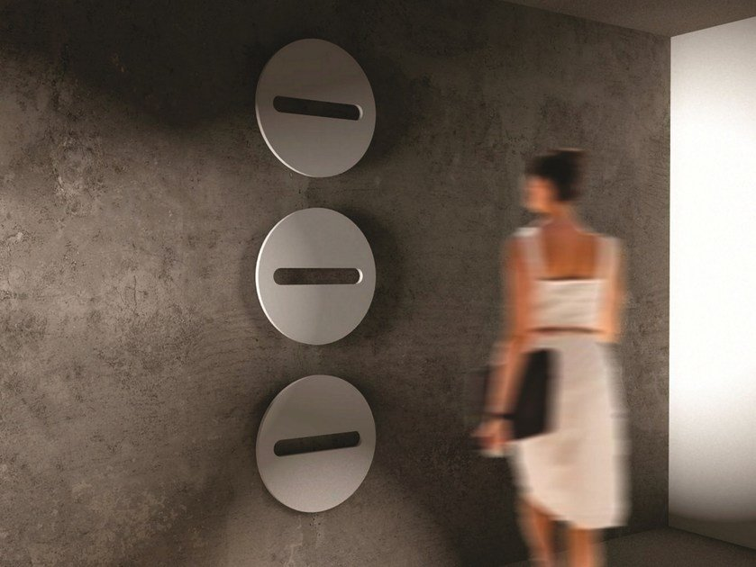 Hot-water modular wall-mounted towel warmer SFERE by CORDIVARI