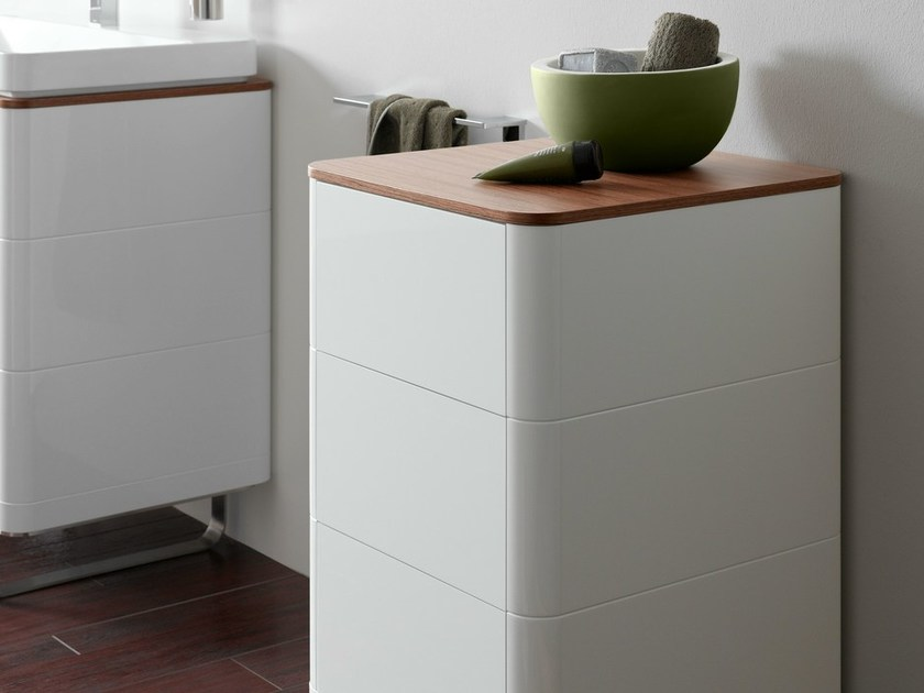 Mobile bagno da terra singolo con cassetti SG | Mobile bagno con ...