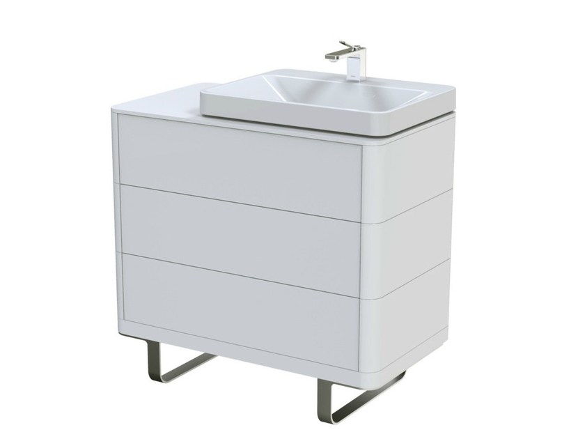 MDF vanity unit with drawers SG | Vanity unit with drawers by TOTO