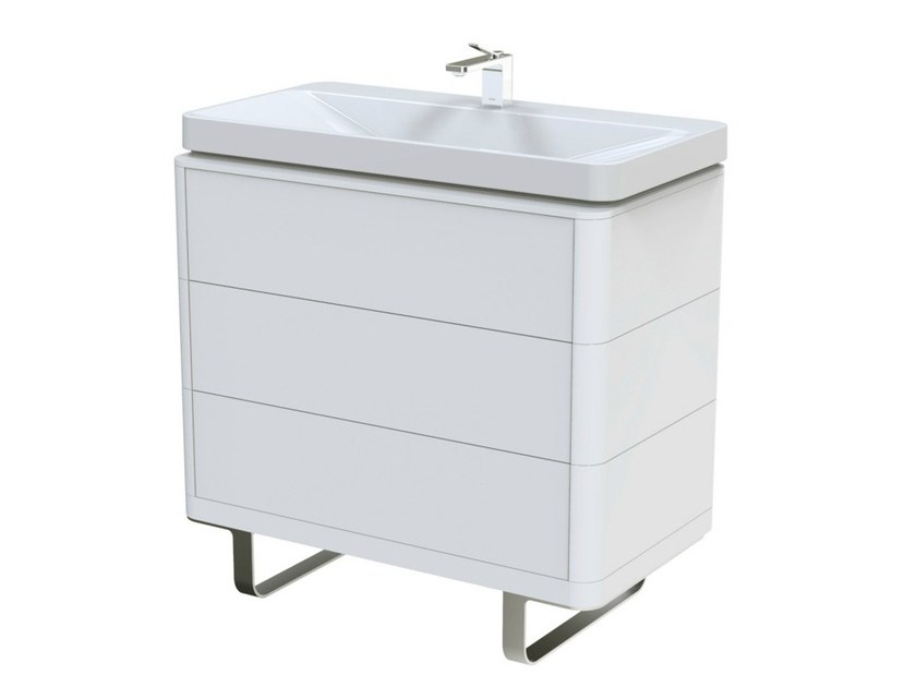 MDF vanity unit with drawers SG | MDF vanity unit by TOTO