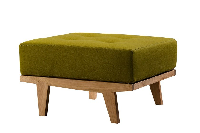 Cherry wood pouf / footstool DAPHNE | Pouf by Morelato