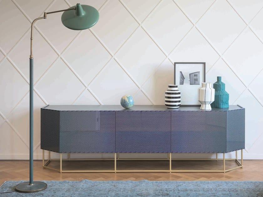 Sideboard Aus Holz Mit Flugelturen Shade By Bonaldo Design Giuseppe Vigano