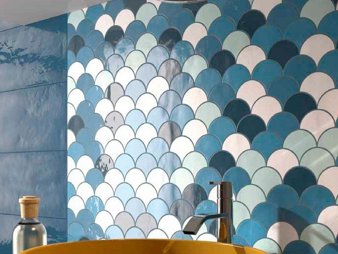 Double-fired ceramic wall tiles SHADES MIX by Ceramica d'Imola