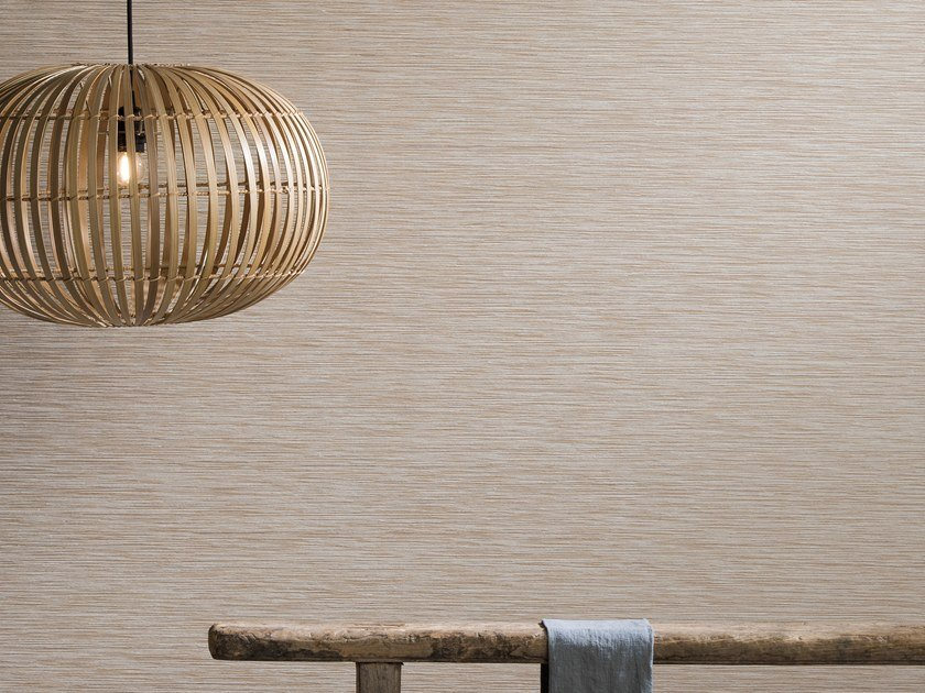 Nonwoven wallpaper SHADES OF PALE - LINEN & VISCOSE by Omexco