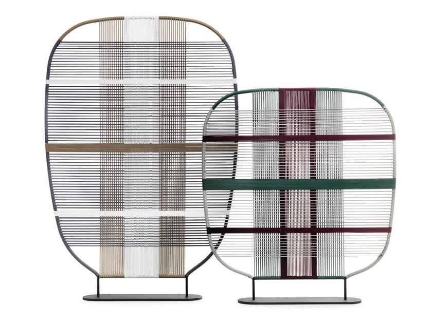 Polyester garden partition SHADES OF VENICE by Saba Italia