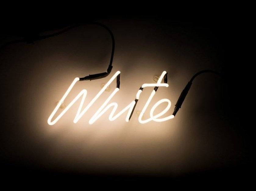 Wall mounted Light letter SHADES WHITE by Seletti