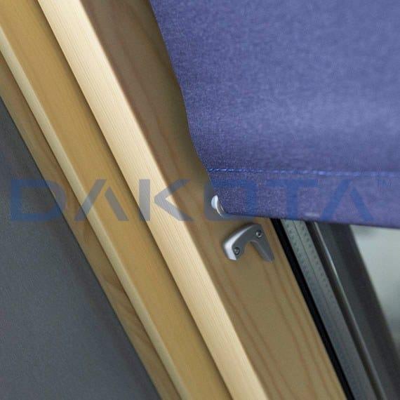 Tenda per finestre da tetto a rullo filtrante in cotone for Tenda finestra tetto