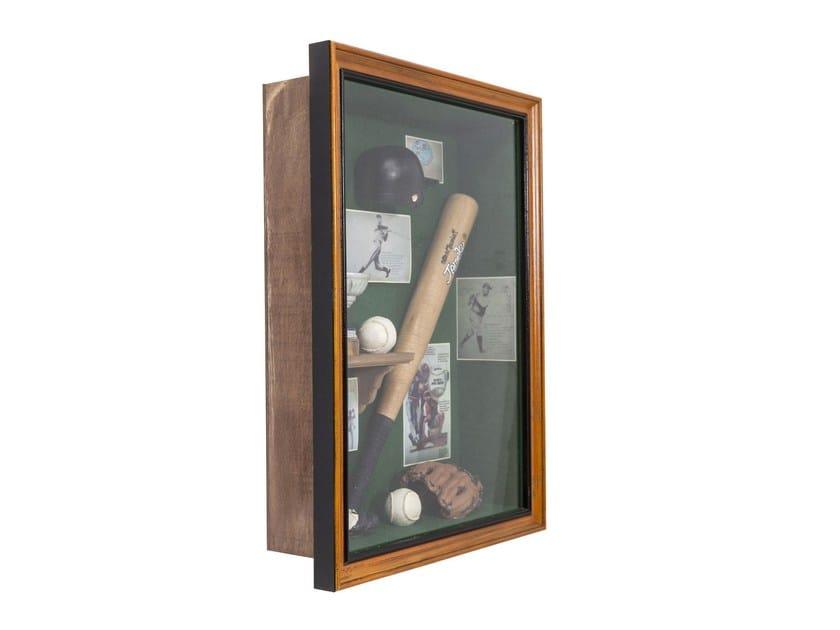 Oggetto decorativo da parete SHADOW BOX BASEBALL by KARE-DESIGN
