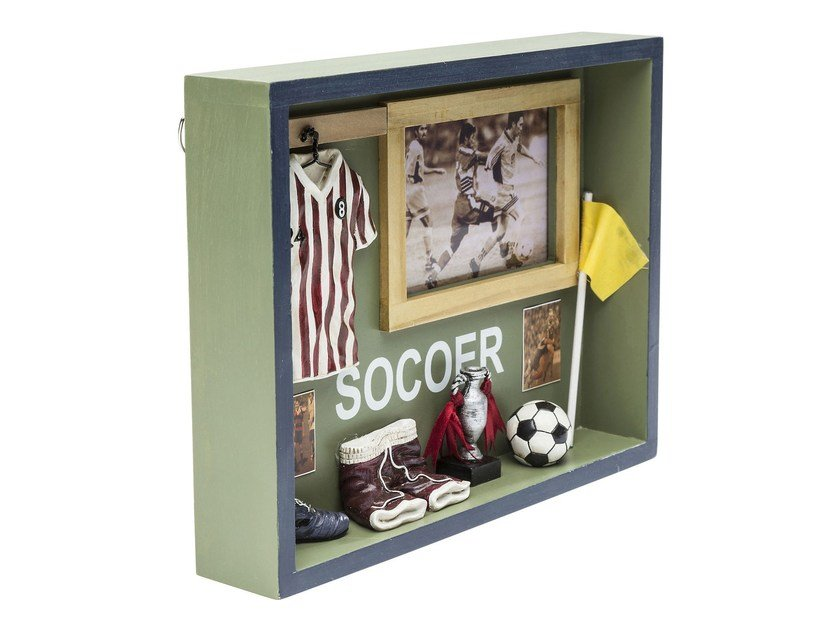 Wall decor item SHADOW BOX SOCCER By KARE-DESIGN