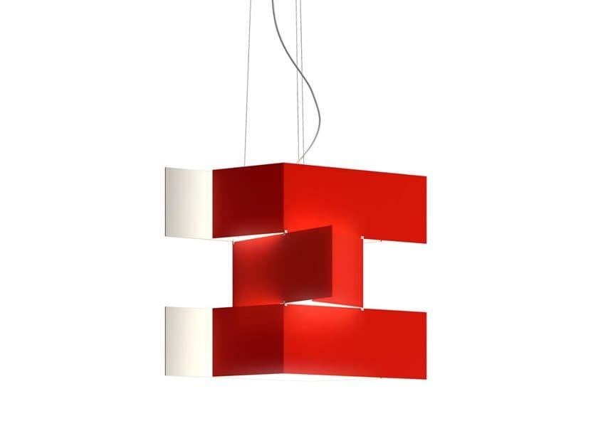 Aluminium pendant lamp SHADOW | Pendant lamp by Estiluz