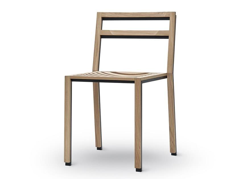 Oak chair SHADOW   Chair by jot.jot