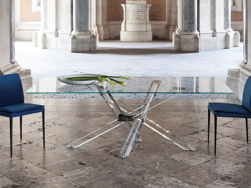 Rectangular PMMA living room table SHANGAI LIMITED EDITION | PMMA table by RIFLESSI